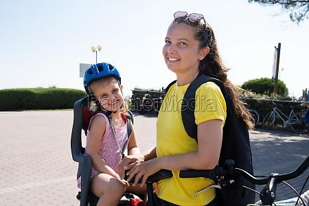 matka, jazda, na, rowerze, na, zewnątrz - 28807290