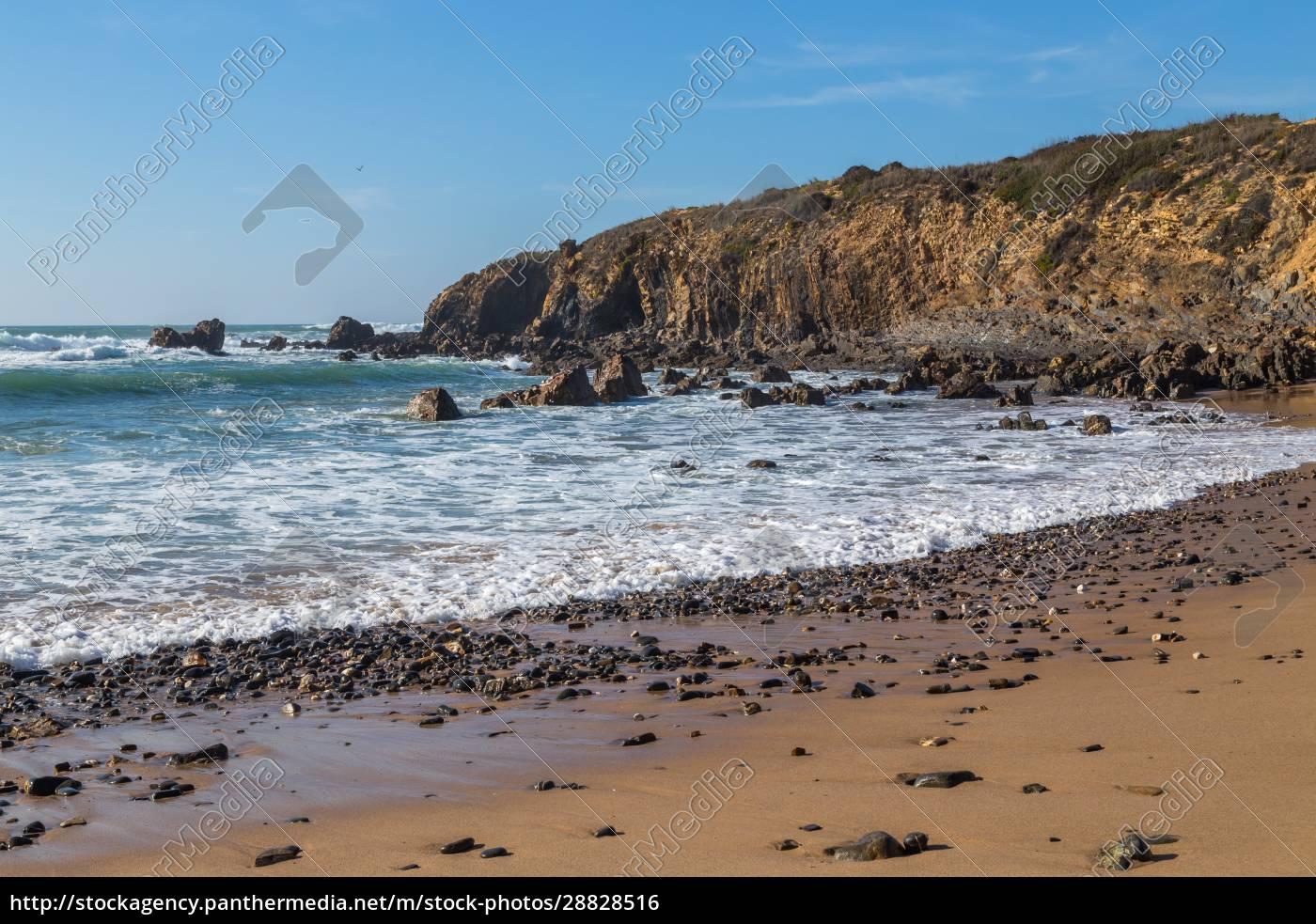 atlantic, isolated, beach - 28828516