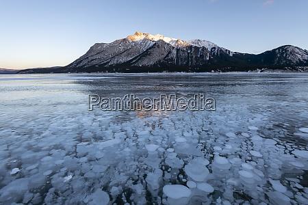 pecherzyki metanu w lake abraham kootenay