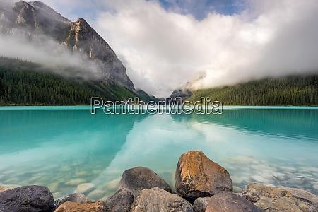 jezioro, louise, park, narodowy, banff, wpisane, na, listę - 28837742