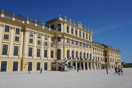 palac schonbrunn wpisany na liste Swiatowego