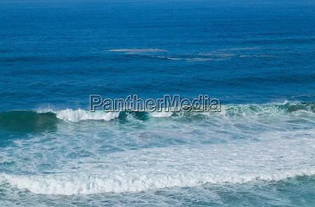 widok na wybrzeze atlantyku