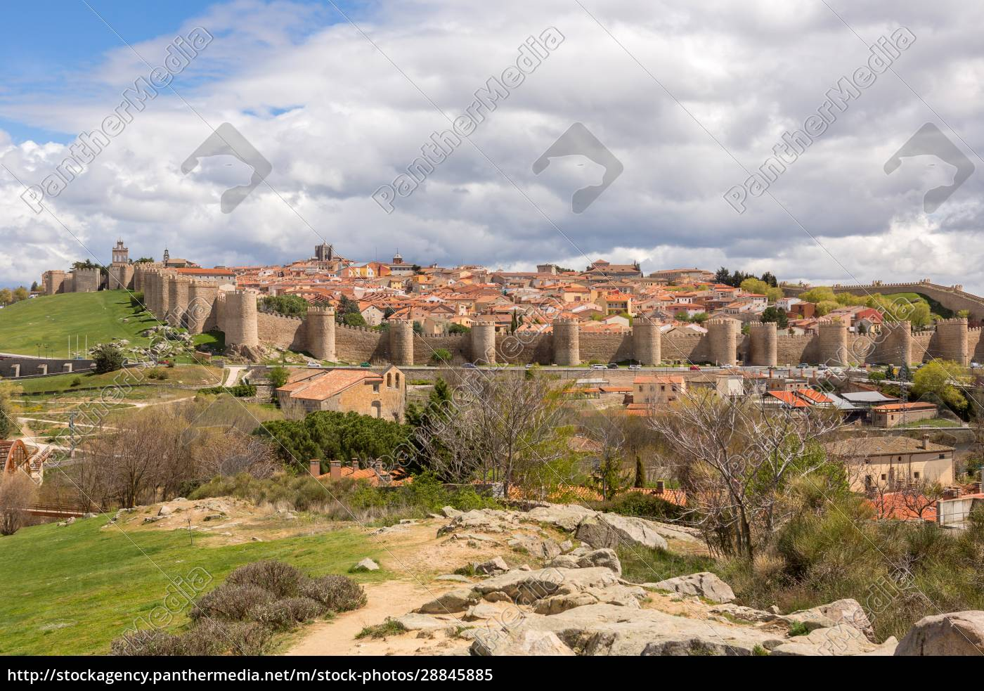 historic, city, of, avila - 28845885