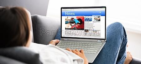ogladanie wiadomosci na ekranie komputera online