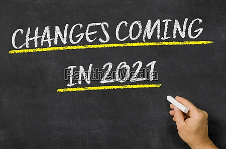 zmiany w 2021 roku napisane na