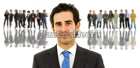 business people without abstract