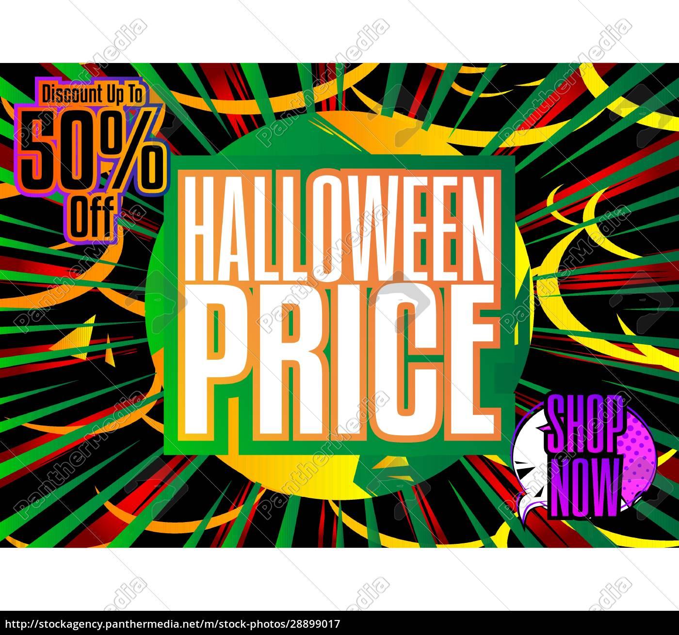komiks, halloween, sprzedaży, social, media, post - 28899017