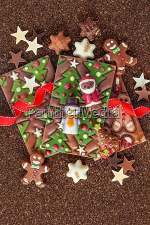 pyszne, czekoladki, na, boże, narodzenie - 28917530