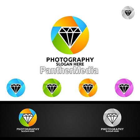 diamentowe logo fotograficzne