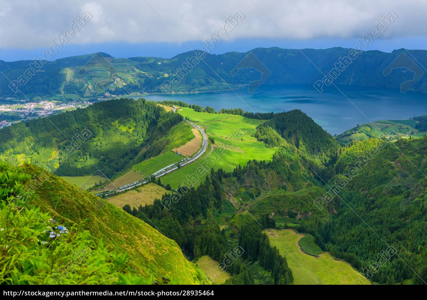 sete, cidades, from, above - 28935464