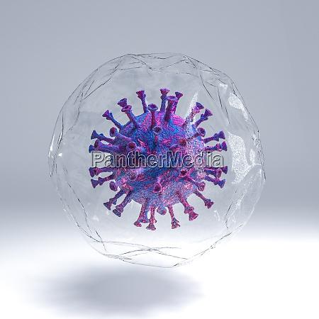 covid 19 wirusa pandemii coronavirus zamkniety
