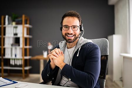 wideokonferencji online wywiad business call