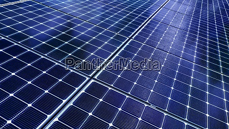 zbliżenie, paneli, słonecznych - 29028875