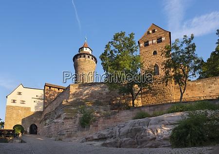 niemcy bawaria Srodkowa frankonia norymberga zamek