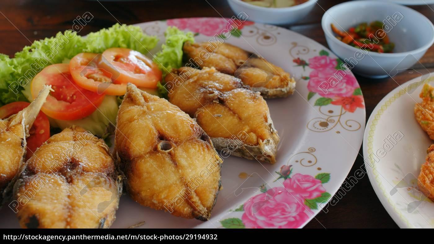 kuchnia, w, stylu, tajskim, w, restauracji - 29194932