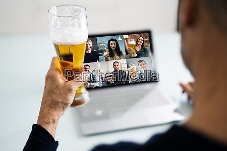 wirtualny napoj piwny online impreza