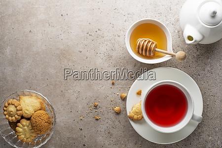 herbata filizanka owocow