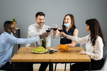 zabawa ludzie food party