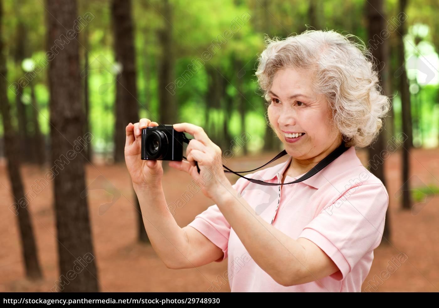 cyfrowe, życie, osób, starszych - 29748930