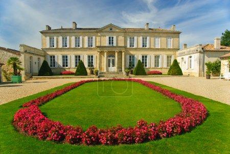 trawa, dziedzictwo, malownicze, Dwór, Francja, pałac - B8312160